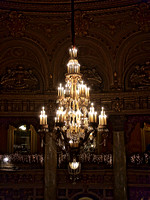 Chandelier of the Loew's Jersey Theater