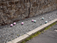 Bocce court, Eastern State Penitentiary