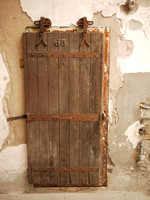 Cell door, Eastern State Penitentiary