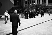 Occupy Wall Street (11/15): Police flock