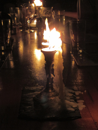 Candles, Junes Wood Foundry