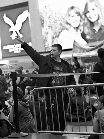 Occupy Wall Street: Times Square rally on May 15, 2012