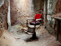 Barber chair, Eastern State Penitentiary