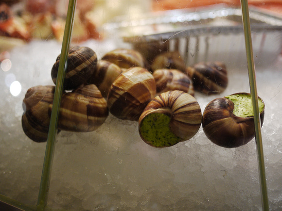 Stuffed snails, Grand Central Terminal Market