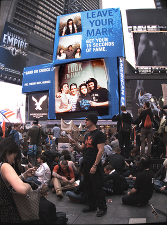 Occupy Wall Street/Times Square rally, 15 May 2012